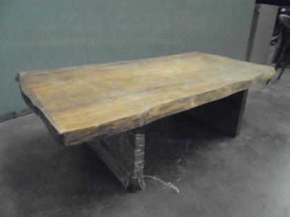 Oak Trunk Coffee Table X1