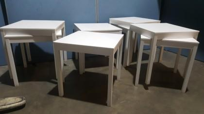 Ikea Square Dining Canteen Table X8