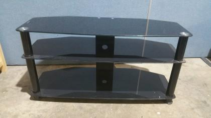 3 Tier Glass Tv Stand X1